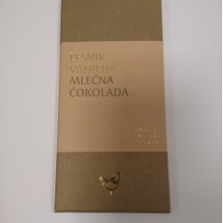 Mlečna čokolada lešnik-vanilija