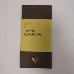 Temna čokolada medenjak-ingver
