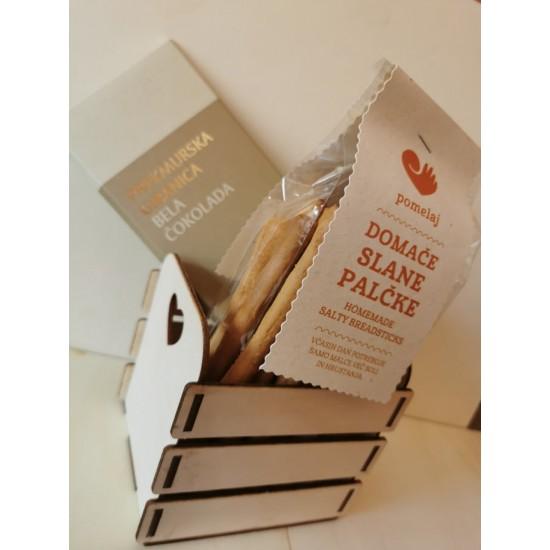Darilni paketek sladko - slani