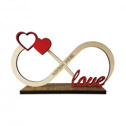 Leseni okras neskončna ljubezen