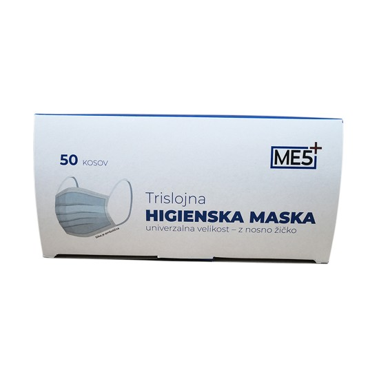 Higienska trislojna maska 50/1