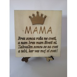 Leseni okras - mama